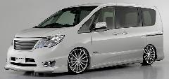 ROJAM IRT コンプリートカー販売 C26セレナ 注文販売 ガレージスパーク