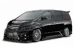20ヴェルファイア ジュール バンパーVer2 コンプリートカー販売 注文販売