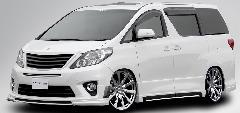 20アルファード ROJAM ハーフエアロ コンプリートカー販売 注文販売