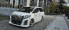 30アルファード admiration  ベルタバンパーエアロ コンプリートカー販売 ガレージスパーク