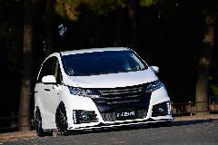 ノブレッセ バンパーエアロ オデッセイ 新車コンプリートカー販売 ガレージスパーク
