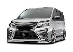 80VOXY ZS グレンツェン 鎧バンパーエアロ 新車コンプリートカー販売 ガレージスパーク