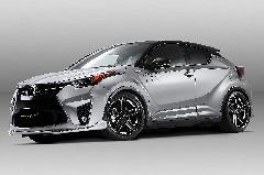 C-HR バルサリーニ バンパーエアロ 新車コンプリートカー販売 ガレージスパーク