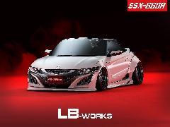 S660 LB−WORKS オーバーフェンダー有り 新車コンプリートカー販売 ガレージスパーク