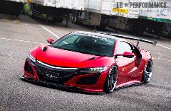 LB★PERFORMANCE NSX 新車コンプリートカー販売 ガレージスパーク
