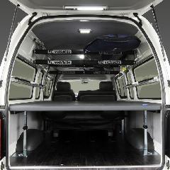 ハイエース200系 スーパーロングバンDX用マルチウェイベッドキット