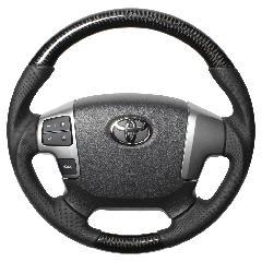 200ハイエース�W型 レアル [オリジナルシリーズ] ガングリップ純正同径  ブラックカーボン