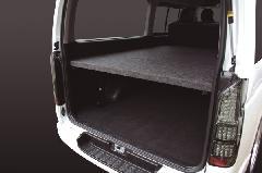 200ハイエース 【標準ボディ】S-GL専用ベッドキット パンチカーペット