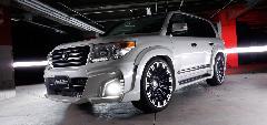 WALD スポーツライン ブラックバイソン ランクル200 コンプリートカー販売 ガレージスパーク