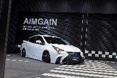 50プリウス AIMGAIN ハイブリッドタイプF コンプリートカー販売 注文販売 オークション代行 ガレージスパーク