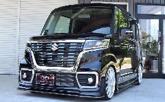 スペーシアカスタム バタフライシステム 新車コンプリートカー販売 ガレージスパーク
