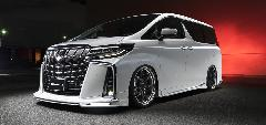 30アルファード後期 WALD エグゼクティブライン 新車コンプリートカー販売 ガレージスパーク