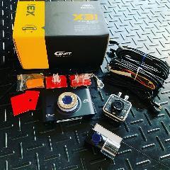 G NET ドライブレコーダー X3i 3カメラ(フロント・リア・室内)