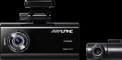 アルパイン リアカメラ付きドライブレコーダー DVR-C02R