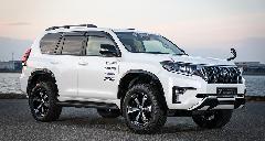 ランドクルーザー プラド ダブルエイト エクストリームVer 新車コンプリートカー販売 ガレージスパーク