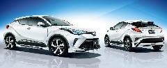 C-HR 後期モデル MODELLISTA ELEGANT ICE STYLE 新車コンプリートカー販売 ガレージスパーク