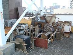 墨田区スポーツジムの廃棄物回収