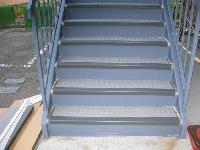 階段の防水工事