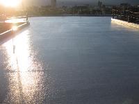 ビルの屋上/ウレタン防水
