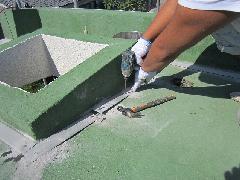 屋上シート防水/かぶせ工法