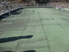 ビル屋上/ゴムシート防水(かぶせ工法)