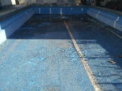 塩ビシートプール防水システム