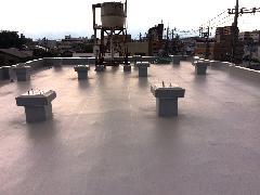 屋上 塩ビシート防水
