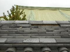 大阪城修道館 瓦工事