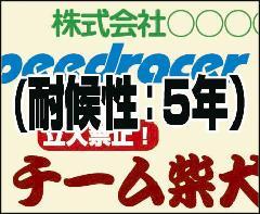 シート文字カット(一般色5年他) 2.5�p×12�p以内 74-119725