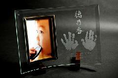 出産記念品【ぺったんこ】写真立て…PF006