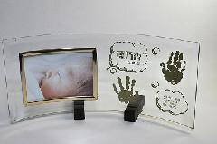 出産記念品【ぺったんこ】写真立て…PF005