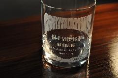 オリジナルロックグラス