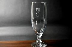 ワンポイント加工のピルスナーグラス(1個〜9個)