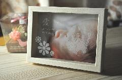 ぺったんこ PHOTO BOX 【パステルホワイト】