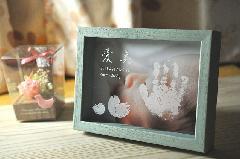 ぺったんこ PHOTO BOX 【パステルブルー】