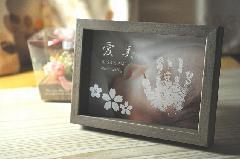 ぺったんこ PHOTO BOX 【パステルブラウン】