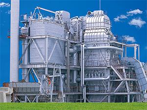焼却炉旋回流動床サーマルリサイクルプラント(大阪市熱回収施設認定)