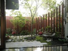 K様邸 庭園