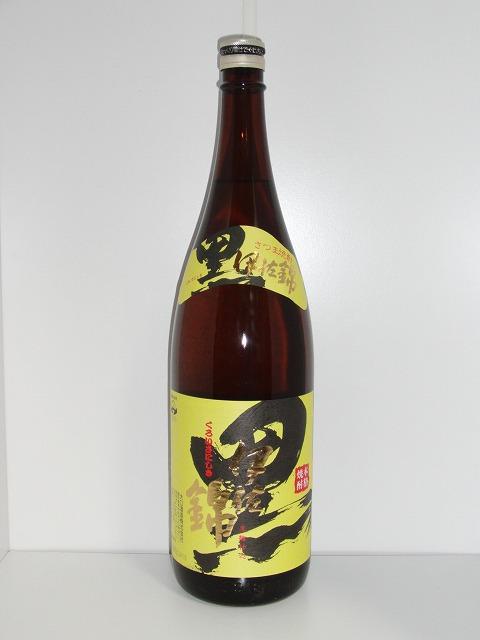 黒伊佐錦 黒麹 芋焼酎 25度 1.8L瓶