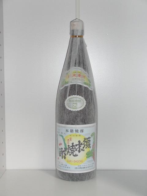 須木焼酎 芋焼酎 25度 1.8L瓶