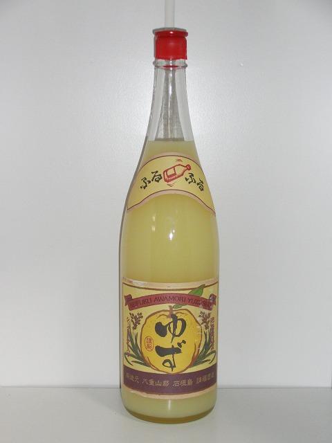 請福ゆずシークヮーサー 10度 1.8L瓶