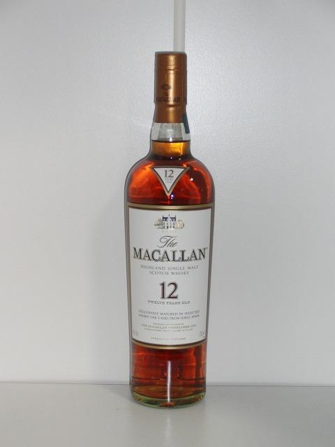 ザ・マッカラン 12年 40% 700ml瓶