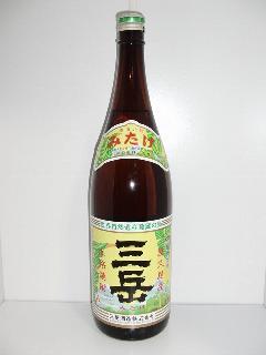 三岳 芋焼酎 25度 1.8L瓶