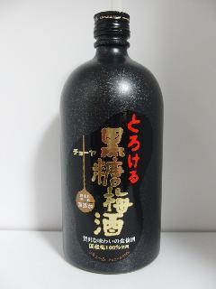 チョーヤ とろける黒糖梅酒 14度 720ml瓶
