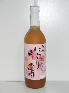白鶴 にごりうめ酒 10度以上から11度未満 720ml瓶