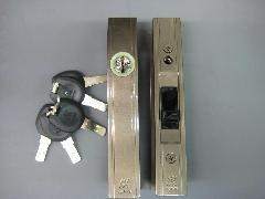 アルファ万能型引違戸錠F4056-ALU‐B