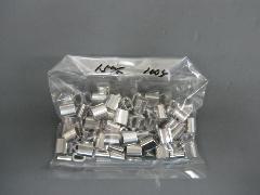 アルミオーバルスリーブ1.5mm(100個入り)