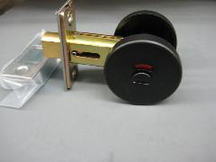 チューブラ表示錠392-68ブラック
