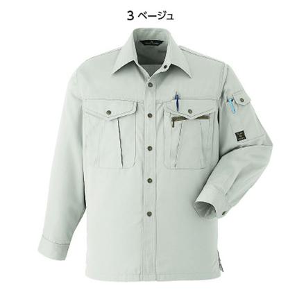 長袖シャツ071