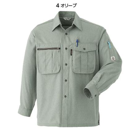 長袖シャツE077